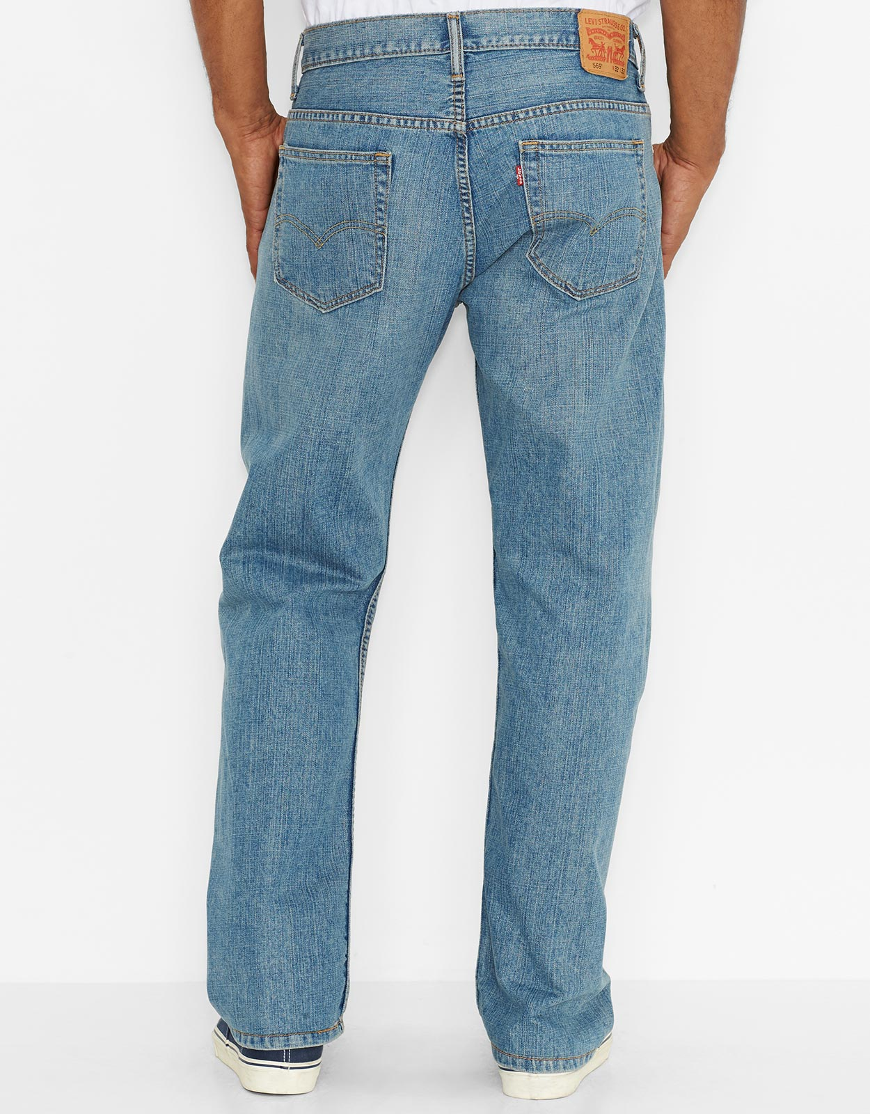 levis mens 569 loose straight fit jeans jagger