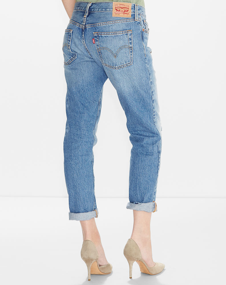 Levi's Women's 501 CT Jean - Morning Haze