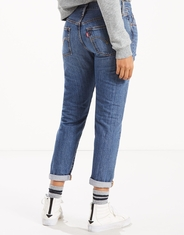 Levi's Women's  501 Taper Mid Rise Relaxed Fit Tapered Leg Jeans - Simple Life