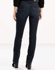 Levi's Women's 505 Straight Stretch Mid Rise Easy Fit Straight Leg Jeans - Immersion (Closeout)