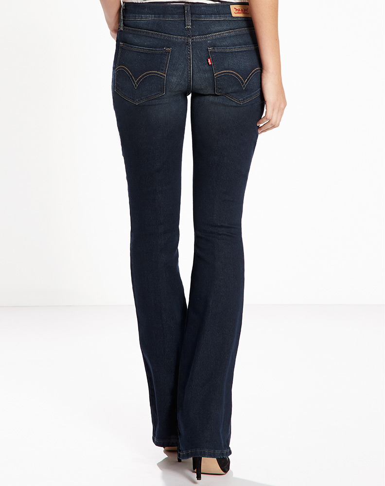 Levi's Women's 524 Bootcut Jean - Field of Dreams