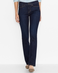 Levi's ® Women's 525 ™ Perfect Waist Straight Leg Jean - Blue Springs (Closeout)