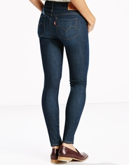 Levi's Women's 711 Skinny With 4-Way Stretch Mid Rise Skinny Jeans - Still Dreamin (Closeout)