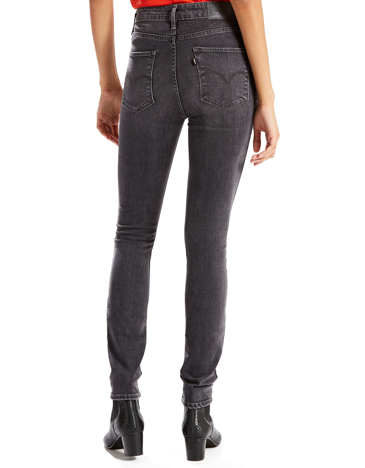 a2f347b36acc3 Levi s Women s 721 High Rise Skinny Jean - Grey Game