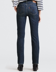 Levi's Women's Classic Straight Mid Rise Easy Fit Straight Leg Jeans - Seattle Blues