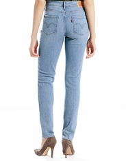 Levi's Women's Mid Rise Skinny Jean - Afternoon Sun