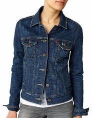 Levis Women's Trucker Jacket - Old Blue