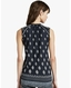 Lucky Brand Women's Sleeveless Print Top - Black