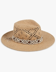 Lucky Women's Macram� Cowboy Hat - Natural