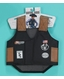 M&F Western Bull Riding Play Vest - Black/Brown