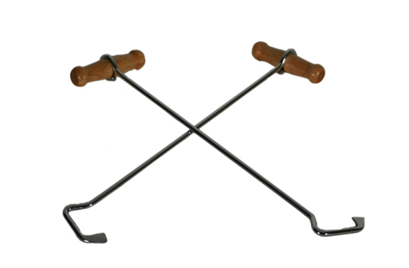 M&F Western Extra Long Boot Hooks
