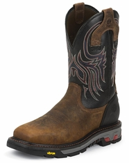 Men's Justin Commander Steel Toe 11