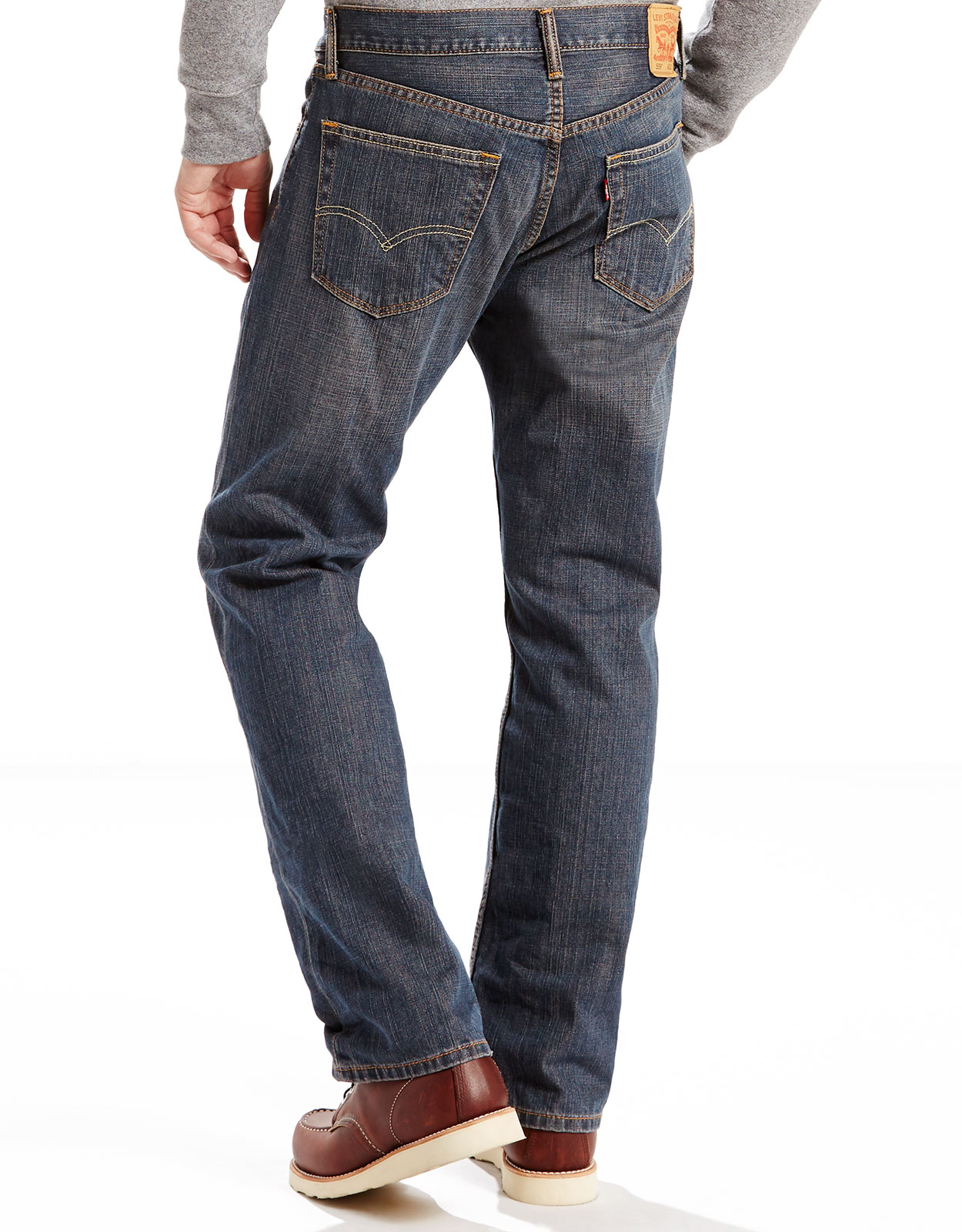 Levi's Men's 559 Relaxed Straight Low Rise Relaxed Fit Straight Leg Jeans - Range