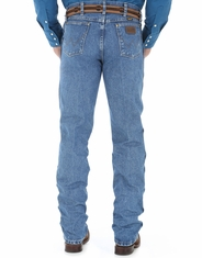 Wrangler Men's 47MWZ Cowboy Cut Regular Fit Jeans - Stonewash