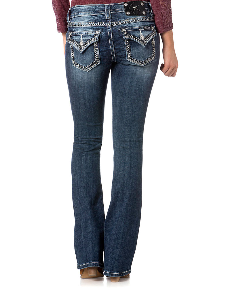Womens Boot Cut Jeans - Jeans Am