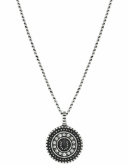 Montana Silversmiths Women's Attitude Horseshoe Necklace - Silver