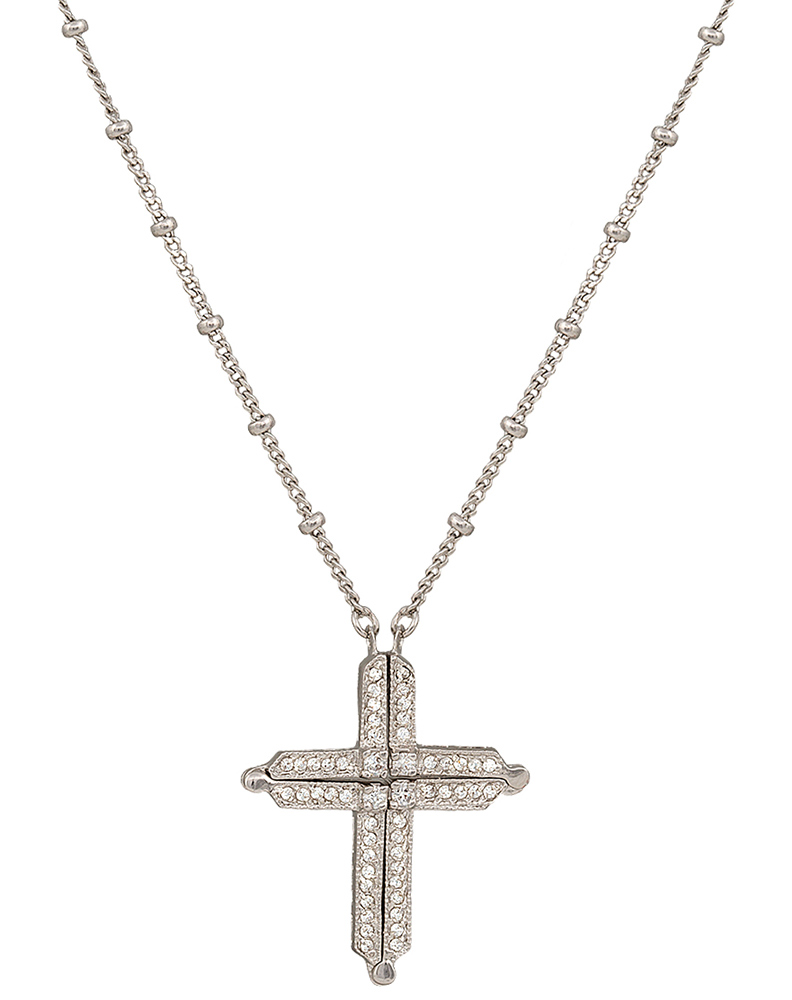 Silversmiths womens convertible cross necklace montana silversmiths womens convertible cross necklace aloadofball Images