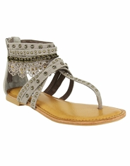 Not Rated Women's Wilma Ankle Sandal-Taupe