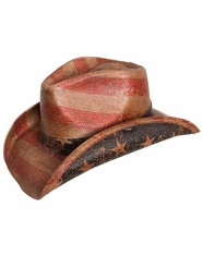 Peter Grimm Patriot Drifter Hat - Tea Stained