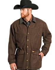 Powder River Men's Montana Wool Heather Coat (Closeout)