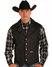 Powder River Men's Montana Wool Heather Vest