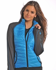Powder River Women's Performance Jacket - Blue (Closeout)