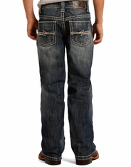 Rock & Roll Cowboy Boy's Regular Fit Jeans - Medium Vintage