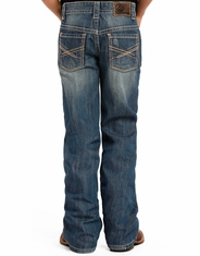 Rock & Roll Cowboy Boy's Regular Fit Jeans - Medium Vintage (Closeout)