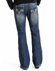 Rock & Roll Cowboy Men's Pistol Boot Cut Jeans - Medium Vintage