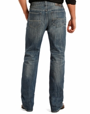 Rock & Roll Cowboy Men's Pistol Low Rise Regular Fit Straight Leg Jeans - Medium Vintage (Closeout)
