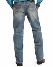 Rock & Roll Cowboy Men's Tuf Cooper Mid Rise Competition Fit  Straight Leg Jeans-Medium Vintage (Closeout)
