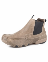 Roper Men's Romeo Driving Moc Slip On Shoes - Brown