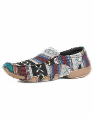Roper Women's Canvas Slip-on Shoes - Multi