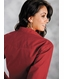 Roper Women's Western Long Sleeve Solid Snap Shirt - Red