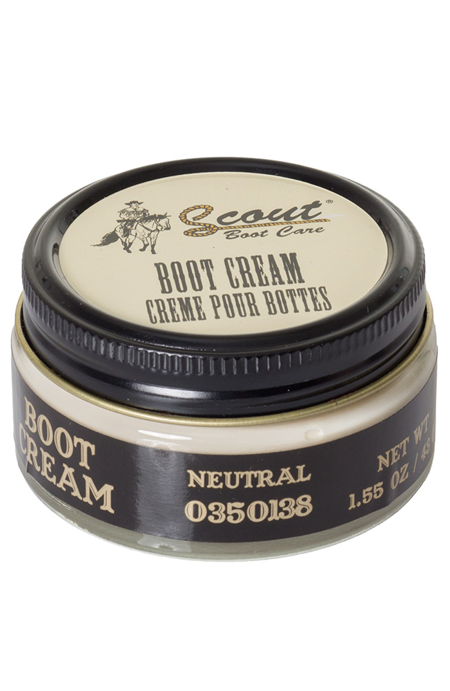 Scout Cream Boot Polish - Neutral