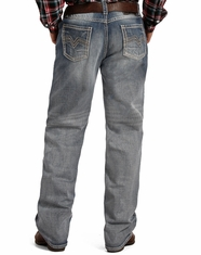Tuf Cooper Men's Competition Fit Mid Rise Relaxed Fit Straight Leg Jeans - Light Wash (Closeout)
