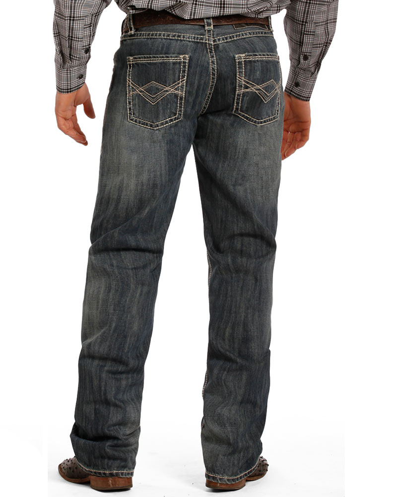 Tuf Cooper Men's Competition Fit Jeans - Medium Wash