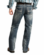Tuf Cooper Men's Competition Fit Straight Leg Jeans - Dark Vintage (Closeout)
