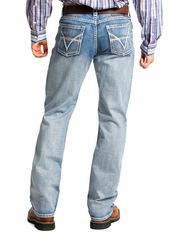 Tuf Cooper Men's Competition Fit Straight Leg Jeans - Light Vintage (Closeout)
