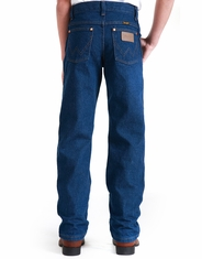 Wrangler 13 Original Student Fit High Rise Regular Fit Boot Cut Jeans - Prewashed Indigo