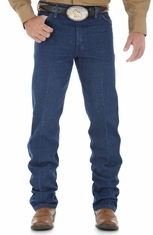 Wrangler Men's 13 Original High Rise Regular Fit Boot Cut Jeans - Prewashed Indigo