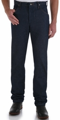 Wrangler Men's 47 Regular Mid Rise Regular Fit Boot Cut Jeans - Rigid