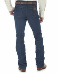 Wrangler Men's 935 Traditional Rigid High Rise Slim Fit Boot Cut Jeans - Navy