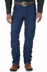 Wrangler Men's 936 Slim High Rise Slim Fit Boot Cut Jeans - Prewashed Indigo