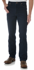 Wrangler Men's 937 Stretch High Rise Slim Fit Boot Cut Jean - Navy