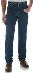 Wrangler Men's George Strait 936 Slim High Rise Slim Fit Boot Cut Jeans - Heavy Stone Denim