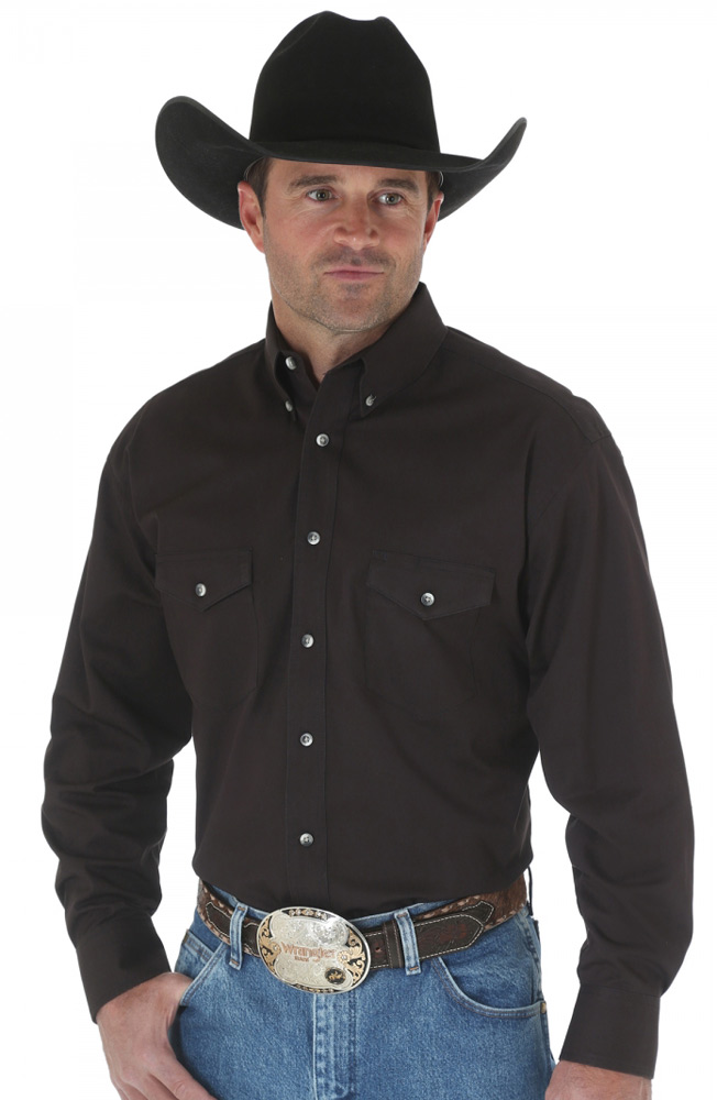 Wrangler Mens Painted Desert Collection Dress Shirt 4 Colors