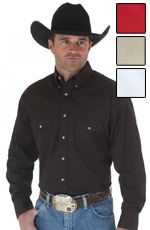 Wrangler Men's Painted Desert Collection® Dress Shirt - 4 colors available