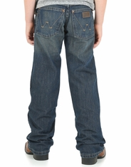 Wrangler Retro Boys' Relaxed Fit Bootcut Jeans (Sizes 8-16) - Dark Vintage