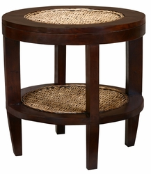 Mahogany Dakar Side Table